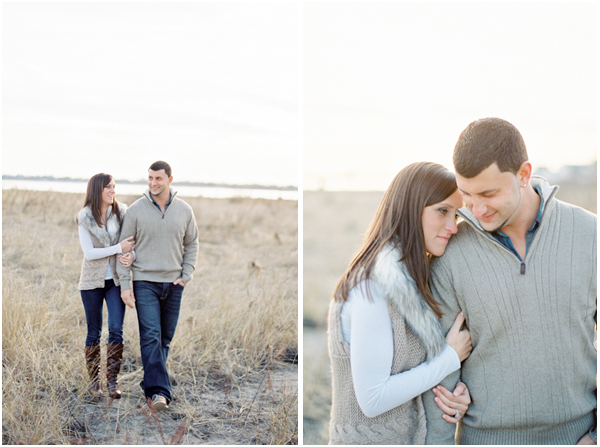 Chris + Danielle Film Contax 645 CT Engagement pics | Stefanie Kapra Wedding Photography