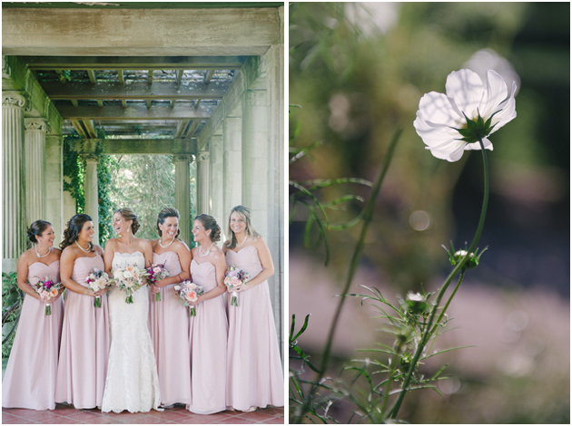bridal party bridesmaids Stefanie Kapra CT Fine Art film wedding Photographer ny sc