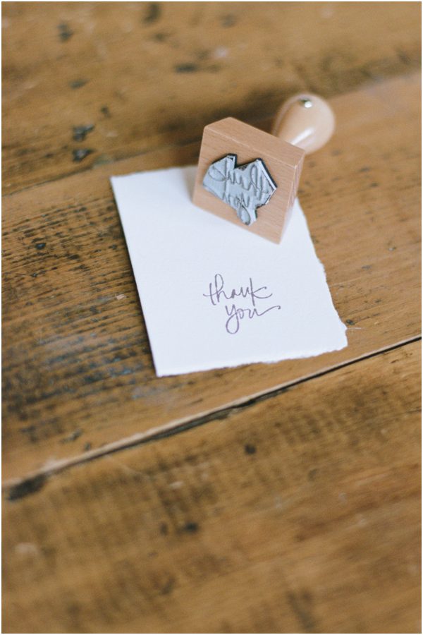 Cute Thank you tags for wedding favors | Stefanie Kapra Wedding Photographer CT