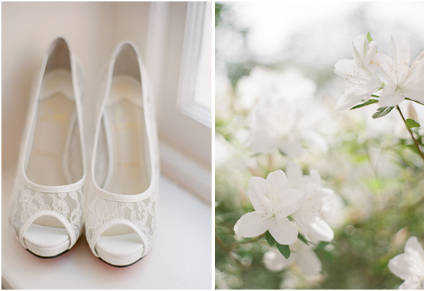 bridal shoes charleston South Carolina wedding photographer Stefanie Kapra