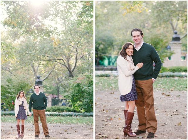 NYC washington square park e-session - Stefanie Kapra Photo Fine Art Film Photographer