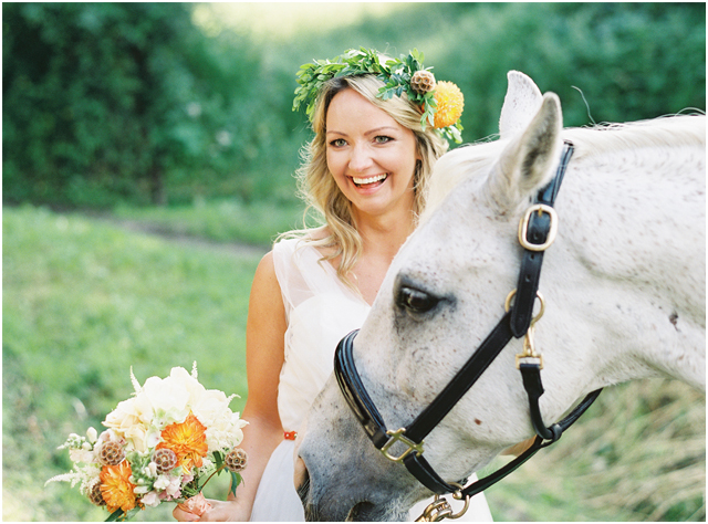 Stefanie Kapra Photo - boho equestrian wedding - Destination weddings - fine art film photographer