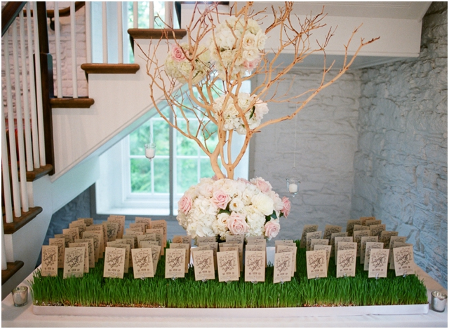 Stefanie Kapra Fine Art Wedding Film Photographer escort card tree NY CT MA
