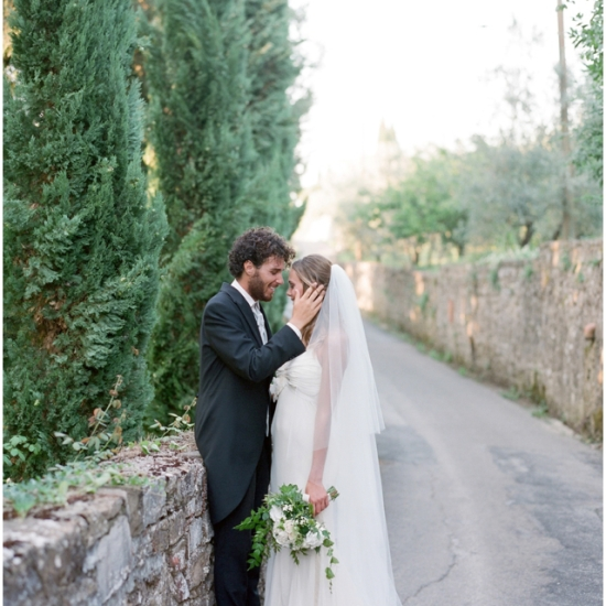 Country House wedding green white Tuscany
