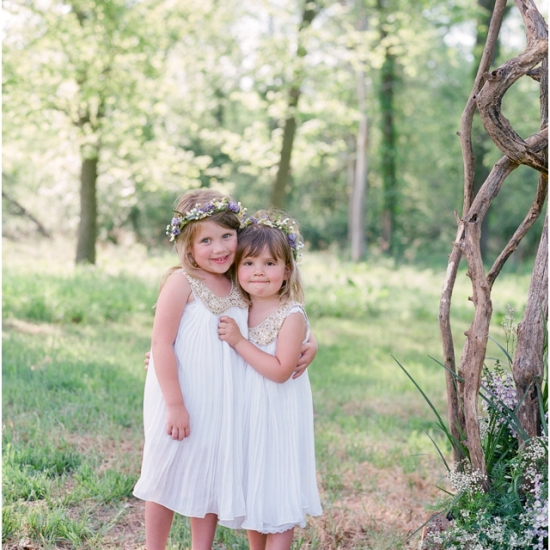 Stefanie Kapra Farm Film Wedding Photographer Hudson Valley Flower Girls